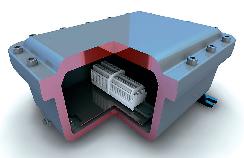 МТ UB - взрывобезопасная соединительная коробка с видом взрывозащиты