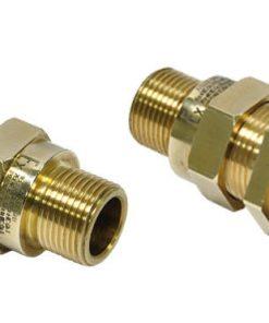 Взрывозащищенный кабельный ввод серии НН с двумя уплотнениями под все типы небронированного кабеля круглого сечения