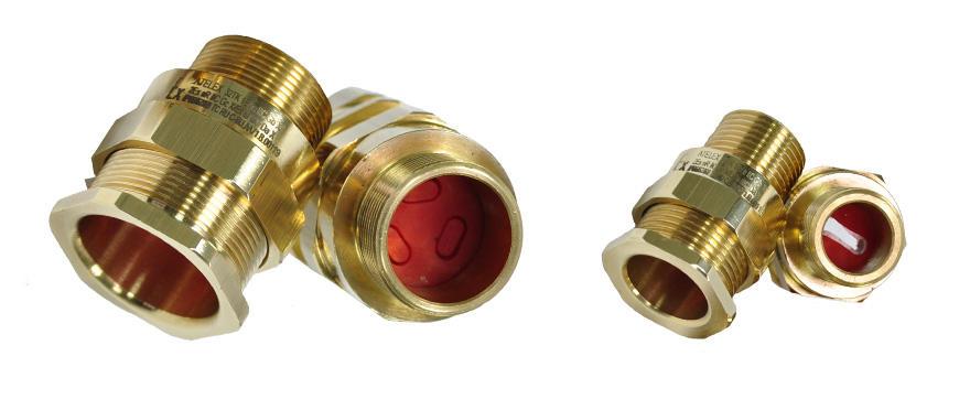 Взрывозащищенный кабельный ввод серии ТК под все типы небронированного кабеля плоского сечения