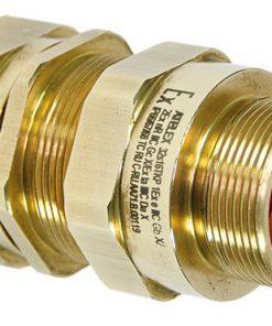 Взрывозащищенный кабельный ввод серии ТКР под все типы небронированного кабеля плоского сечения, проложенного в трубе