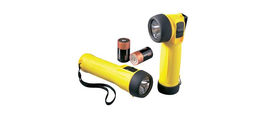Wolf ATEX взрывобезопасный ручной фонарь TS/TR