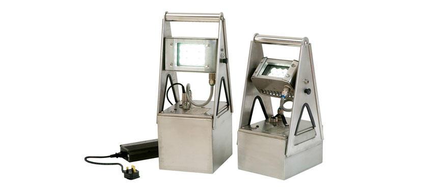 Прожектор взрывозащищенный аккумуляторный серии Wolf АТЕХ Worklite WL-85/70
