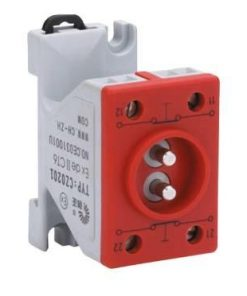 Блок контактный двухполюсный типа CZ0201-**